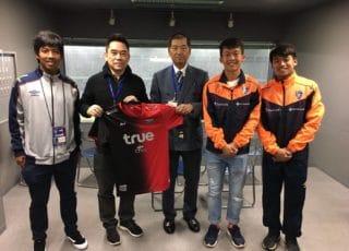 ขจรนำ 3 ดางรุ่งแข้งเทพขอบคุณนิจิบันช่วยมอบโอกาสลงเล่นที่ญี่ปุ่น