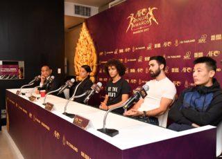 3แข้งดัง เปิดใจรางวัลแข้งยอดเยี่ยมงาน AFC Annual Awards Bangkok 2017