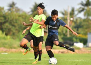 ยังไม่เข้าที่! ทีมชาติไทย U19 ประเดิมอุ่นเครื่องพ่าย ทรู แบงค็อก บี 1-4